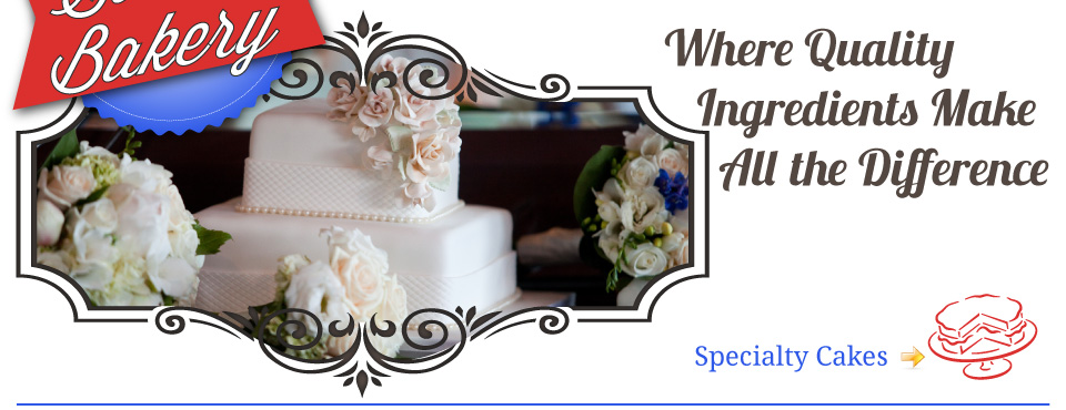 Where Quality Ingredients Make All the Difference - wedding cake